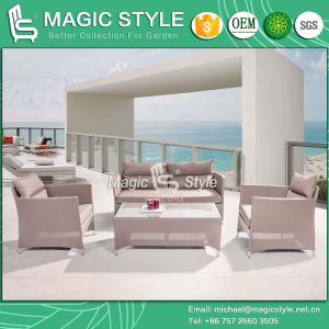 Modern Sling Sofa Set Textile Sofa Textile Furniture (Magic Style) pictures & photos