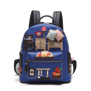 Newest High Quality Fashion Women Cartoon Backpack pictures & photos