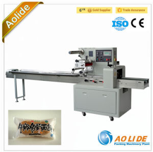 Ald-350b/D Automatic Multi-Function Biscuit/Chocolate/Cookies/Bread Horizontal Flow Packing Machinery pictures & photos