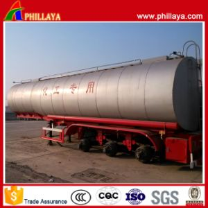 Fuel/Oil Tank Semi Trailer Diesel Carbon Steel Tanker pictures & photos