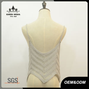 Women Fashion Summer Knitted Slip Tops pictures & photos