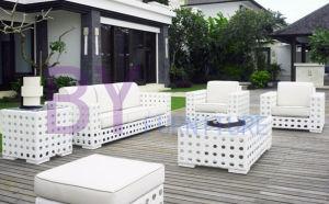 by-461 Luxury Cow Eye Weaving Wicker Rattan Waterproof Outdoor Sofa pictures & photos