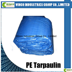 Laminated Tarpaulin Waterproof Fabric for Super Market, UV Stabilized PE Tarpaulin pictures & photos