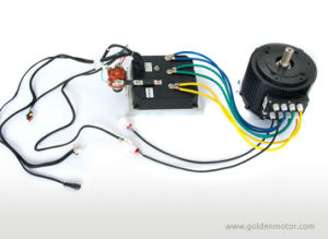CE Approved Electric Car Motor 48V 10kw, Fan Cooling/Liquid Cooling pictures & photos