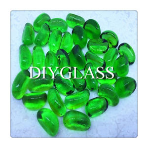 Green Decoration Glass 17-22mm pictures & photos
