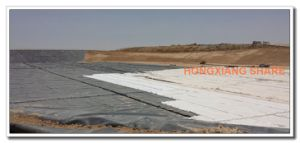 Polypropylene Nonwoven Geotextile Used in Dam pictures & photos