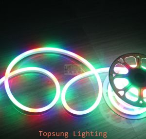 Chasing RGB LED Neon Tube Flex Multi Color Flexible Lights