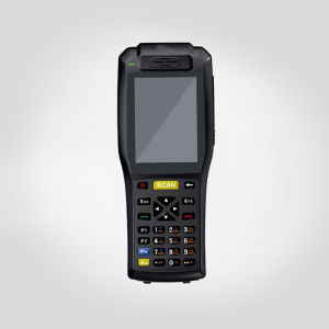 3505 PDA Handheld Terminal with 58mm Thermal Printer, NFC, 3G, GPS, WiFi. Bluetooth