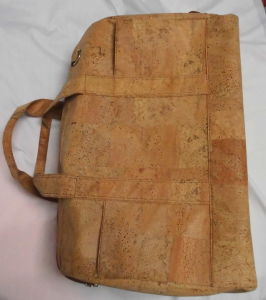 New Real Wood Cork Leather Ladies Shoulder Bag (DB08) pictures & photos
