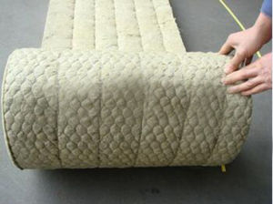 Best-Selling Thermal Insulation Rock Wool Blanket with Wire Mesh Made in China pictures & photos