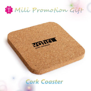Cork / Wooden Custom Print Logo Cup Pad Glass Coaster pictures & photos