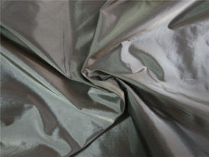 20d Black Yarn Nylon Taffeta Fabric for Down Garment (XSN012) pictures & photos
