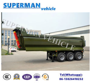 Vietnam Type Tri-Axle Dump Tipper Tipping Truck Trailer 25cbm for Sale pictures & photos
