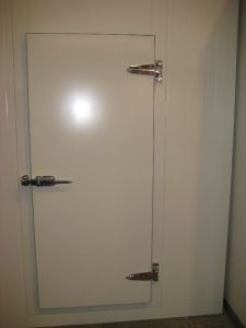 Semi-Sunk Hinge Door with Aluminium Sheet pictures & photos