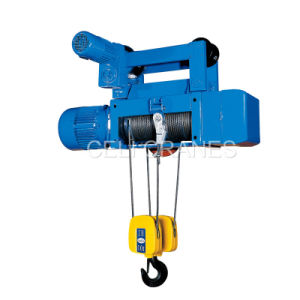 Ce Approved Electric Wire Rope Hoist for Single Girder Crane