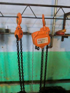 G80 Chain Equipped 5ton Manual Chain Hoist pictures & photos