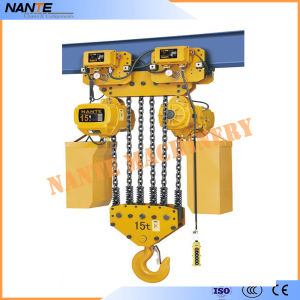 Chain Hoist with Electric Trolley pictures & photos