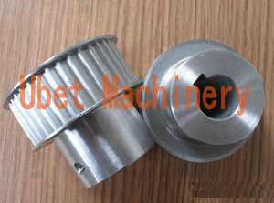 Toothed Wheel Timing Belt Drives with Flanges, Hub and Keyway pictures & photos