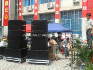 Dual 10 Inch Top Line Array Dual 15 Inch Subwoofer Speaker Cvr W-210A&W-250A pictures & photos