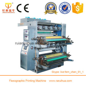 Self-Adhesive Label Flexo Die Cutting and Printing Machine pictures & photos