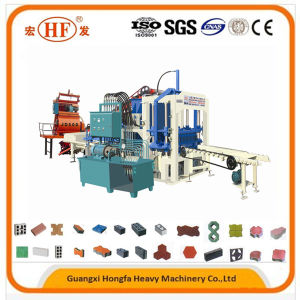 Concrete Hollow Brick Making Machine Block Production Line for Africa pictures & photos