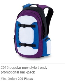 New Style Trendy Promotional Backpack