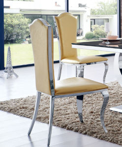Dining Chair Stainless Steel Chair for Living Room Furniture pictures & photos