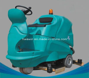 Powerful Automatic Ride on Floor Cleaning Scrubber Machine pictures & photos