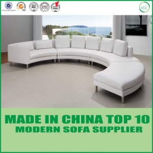 Modern Living Room U Shape Leather Sofa pictures & photos