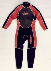 Women′s Long Neoprene Surfing Wetsuit/Swimwear/Sports Wear (HX15L49) pictures & photos