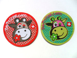 Custom Design of Apparel Accessories Beauty Woven Patch (CD-0023) pictures & photos