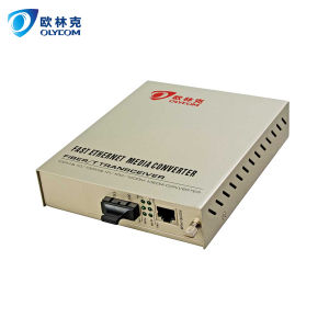 10/100m Single Mode Dual Fiber Internal Power 20km Fiber Media Converter