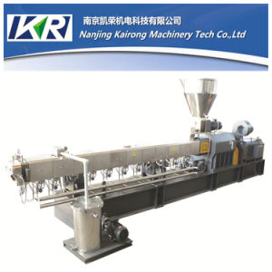 Tse-65 Parallel Co-Rotating Plastic Extruder Machine Sale pictures & photos