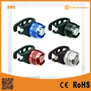 S80 LED Aluminum Alloy Flashing Safety Biking Rear Light pictures & photos