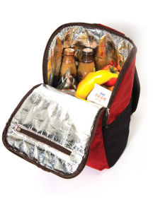 High Quality Insulated Thermal Lunch Picnic Cooler Backpack (MS3128) pictures & photos