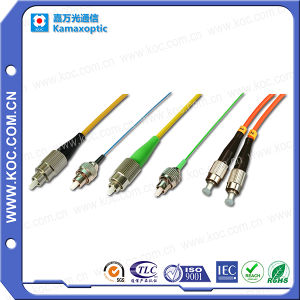 FC-FC Fiber Optic Cable Sehnzhen Manufacturer pictures & photos