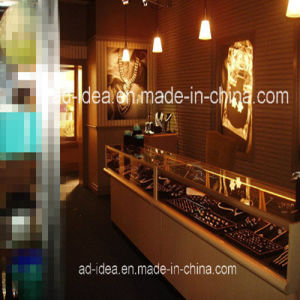 High Quality Jewelry Display Cabinet/LED Light Platfond Jewelry Showroom Cabinets pictures & photos