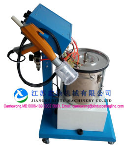 Advanced Technology Manual Electrostatic Flocking Machine & Equipment pictures & photos