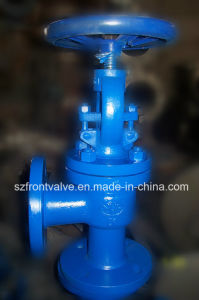 Ductile Iron Threaded Angle Valve pictures & photos