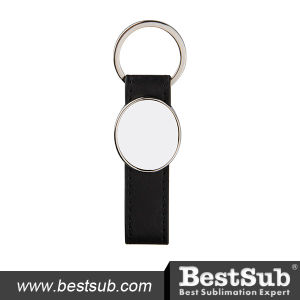 Strip PU Key Chain (Oval) (YA113) pictures & photos