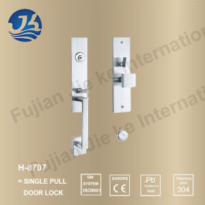 High Quality 304 Stainless Steel Door Lock (H-8707) pictures & photos