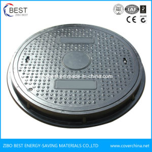 Heavy Duty D400 700*50mm Round Composite Manhole Cover pictures & photos