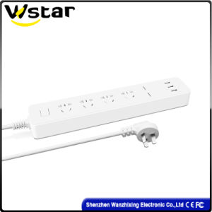 250V Electrical Extension Socket with LED pictures & photos