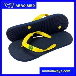 Hot Popular Style Slipper with National Flag in Africa (15I049) pictures & photos