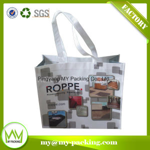 Full Color Printing PP Lamination Promotion Bag pictures & photos