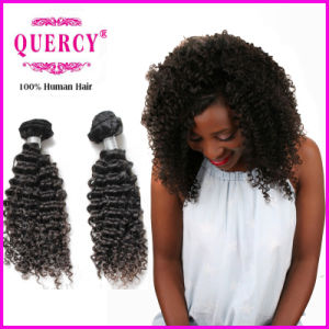 Quercy Hair 100% Human Virgin Remy Afro Curl Hair Extension pictures & photos