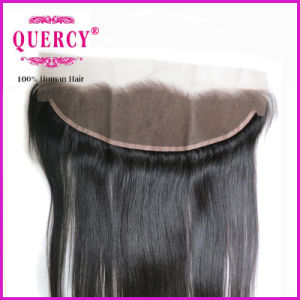 New Popular Style Real Unprocessed Virgin Hair Straight Ear to Ear Lace Frontals with Baby Hair pictures & photos