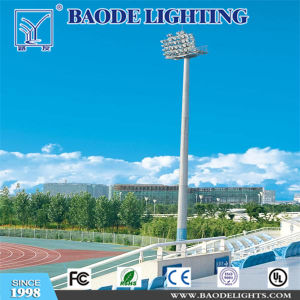 Baode Lighting 15m High Mast Lighting Tower with Automatic Lifting System pictures & photos