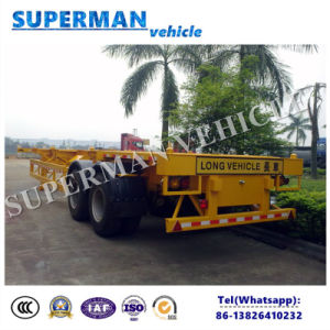 40FT Container Transport Chassis Semi Trailer pictures & photos