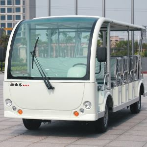 CE Quiet and Comfortable 23 Seats Electric Sightseeing Car (DN-23) pictures & photos